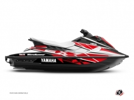 Kit Déco Jet-Ski REPLICA Yamaha EX Blanc Rouge