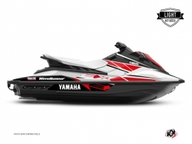 Kit Déco Jet-Ski Replica Yamaha EX Blanc Rouge LIGHT