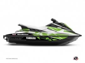 Kit Déco Jet-Ski Replica Yamaha EX Blanc Vert