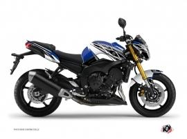 Kit Déco Moto Replica Yamaha FZ 8 Bleu