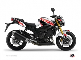 Yamaha FZ 8 Street Bike Replica Graphic Kit Red