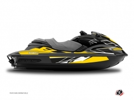 Yamaha FZR-FZS Jet-Ski Replica Graphic Kit Yellow