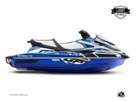 Kit Déco Jet Ski Replica Yamaha GP 1800 Bleu LIGHT