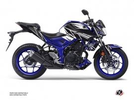 Yamaha MT 03 Street Bike Replica Graphic Kit Blue