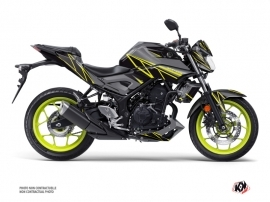 Yamaha MT 03 Street Bike Replica Graphic Kit Black Yellow
