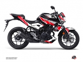 Yamaha MT 03 Street Bike Replica Graphic Kit Red