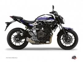 Kit Déco Moto Replica Yamaha MT 07 Bleu