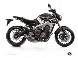 Kit Déco Moto Replica Yamaha MT 09 Marron