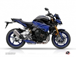 Yamaha MT 10 Street Bike Replica Graphic Kit Black Blue