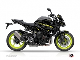 Yamaha MT 10 Street Bike Replica Graphic Kit Black Yellow