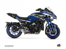 Yamaha NIKEN Street Bike Replica Graphic Kit Blue