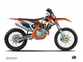 KTM 450 SXF Dirt Bike Replica Pichon Graphic Kit