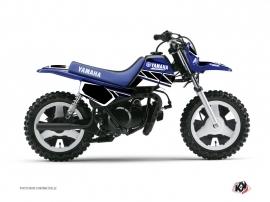 Kit Déco Moto Cross Replica Yamaha PW 50 Bleu