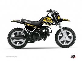 Kit Déco Moto Cross Replica Yamaha PW 50 Jaune
