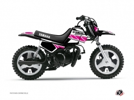 Kit Déco Moto Cross Replica Yamaha PW 50 Rose
