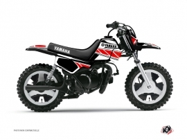 Kit Déco Moto Cross Replica Yamaha PW 50 Rouge