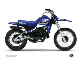 Kit Déco Moto Cross Replica Yamaha PW 80 Bleu