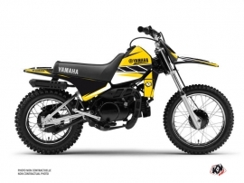 Kit Déco Moto Cross Replica Yamaha PW 80 Jaune