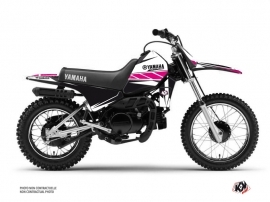 Kit Déco Moto Cross Replica Yamaha PW 80 Rose