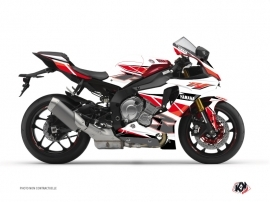 Kit Déco Moto Replica Yamaha R1 Rouge