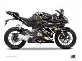 Kit Déco Moto Replica Yamaha R125 Marron