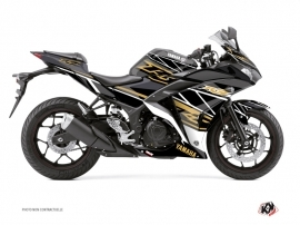 Kit Déco Moto Replica Yamaha R3 Marron
