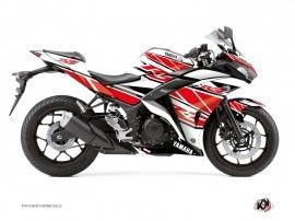 Kit Déco Moto Replica Yamaha R3 Rouge