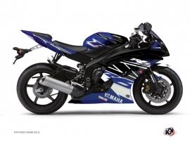 Kit Déco Moto Replica Yamaha R6 Bleu