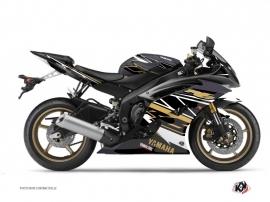 Kit Déco Moto Replica Yamaha R6 Marron