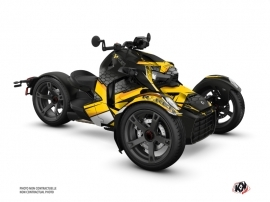 Can Am Ryker 600 900 Roadster Replica Graphic Kit Yellow