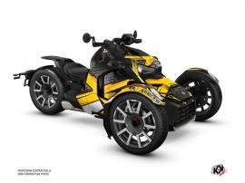 Kit Déco Hybride Replica Can Am Ryker 600 900 Edition Rallye Jaune