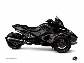 Can Am Spyder RS Roadster Replica Graphic Kit Black Grey