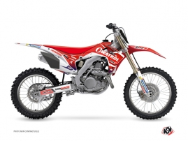Honda 450 CRF Dirt Bike Replica Team Luc1 Graphic Kit 2016