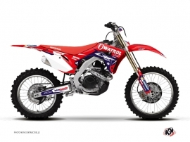 Honda 450 CRF Dirt Bike Replica Team Luc1 Graphic Kit 2017