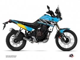 Yamaha TENERE 700 Street Bike Replica Graphic Kit Cyan