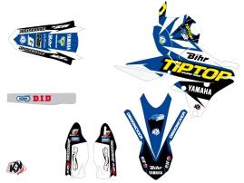 Yamaha 250 YZF Dirt Bike Replica Team Tip Top Graphic Kit LIGHT