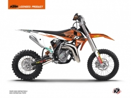 KTM 65 SX Dirt Bike Replica Tixier Team VHR 2018-2019 Graphic Kit