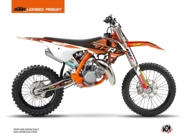 KTM 85 SX Dirt Bike Replica Tixier Team VHR 2018-2019 Graphic Kit