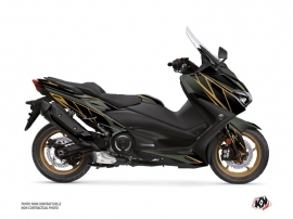 Yamaha TMAX 560 Maxiscooter Replica Graphic Kit Kaki