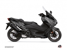 Yamaha TMAX 560 Maxiscooter Replica Graphic Kit Black Grey
