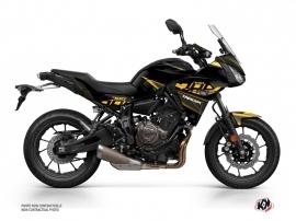 Kit Déco Moto Replica Yamaha TRACER 700 Noir Jaune
