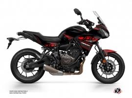Kit Déco Moto Replica Yamaha TRACER 700 Noir Rouge