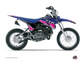 Kit Déco Moto Cross Replica Yamaha TTR 110 Rose