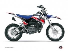 Kit Déco Moto Cross Replica Yamaha TTR 90 Rouge