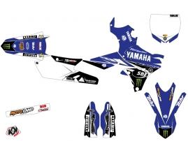 Yamaha 450 YZF Dirt Bike Replica Adrien Van Beveren Graphic Kit 2016