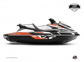 Kit Déco Jet-Ski Replica Yamaha VX Noir Orange LIGHT