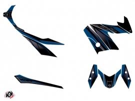 Kit Déco Maxiscooter Replica Yamaha XMAX 400 Bleu Noir