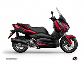 Yamaha XMAX 400 Maxiscooter Replica Graphic Red Black