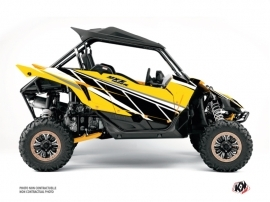 Yamaha YXZ 1000 R UTV Replica Graphic Kit Yellow
