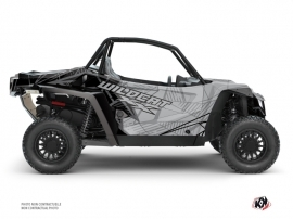 Arctic Cat Textron Wildcat XX UTV Requiem Graphic Kit Black Grey
